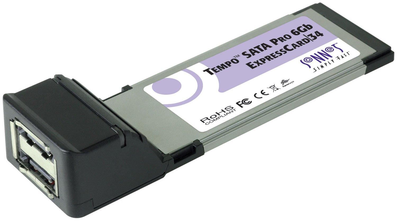 Sonnet Tempo SATA Pro 6Gb Expresscard/34 Storage Controller - Plug-in Module Components Other TSATA6-PRO2-E34 by Sonnet Technologies (Image #1)