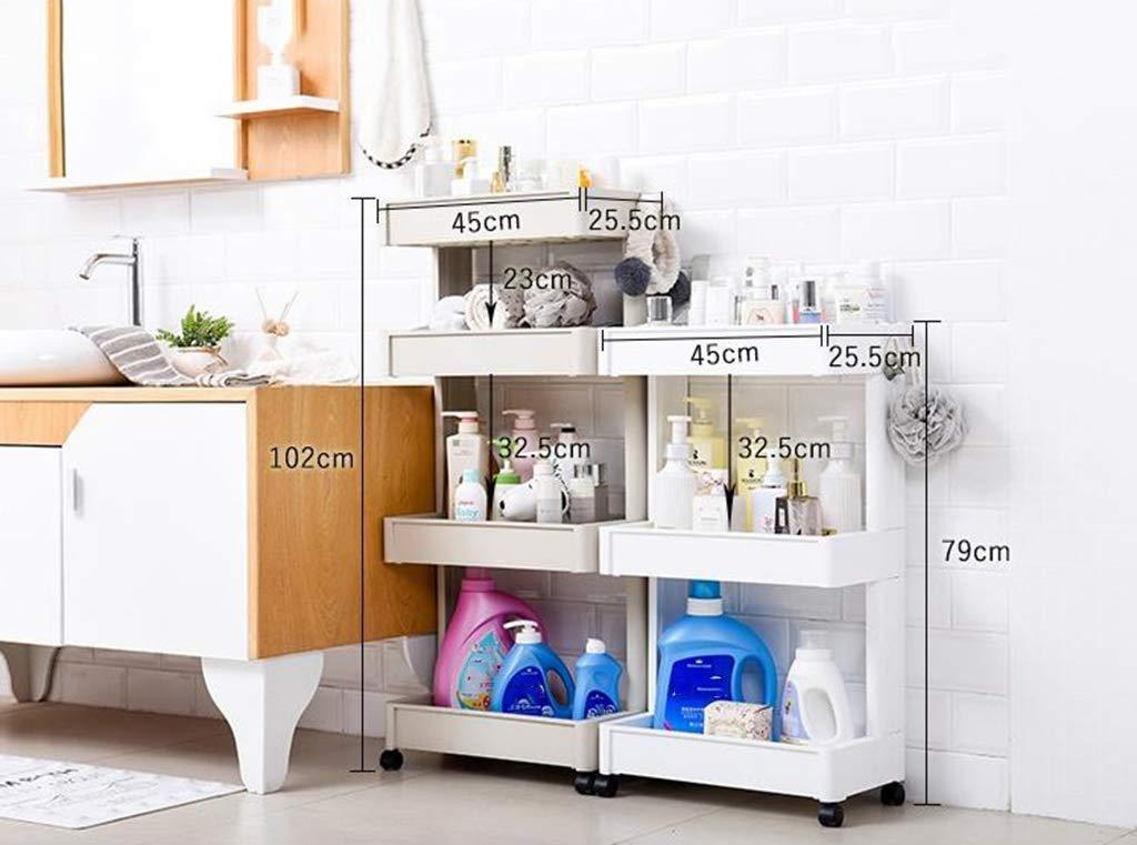 Carrellino Salvaspazio Cucina : Yxx max carrellino salvaspazio cucina scaffale per bagno scaffale
