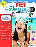 Evan-Moor Daily Summer Activities, Between 3rd Grade and 4th Grade Activity Book; Daily Summer Bridge Activity Lessons