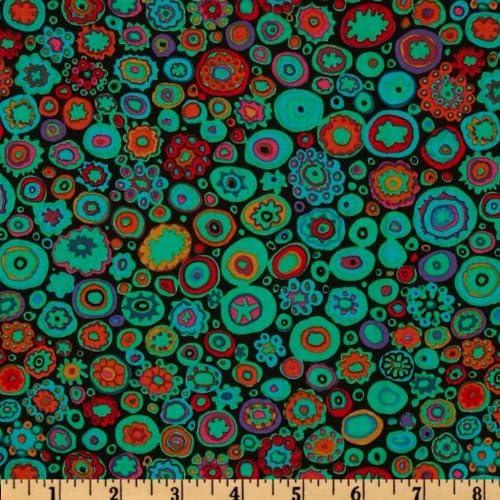 FreeSpirit Fabrics Kaffe Fasset Collective Paperweight Teal Fabric by The Yard