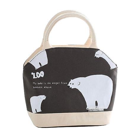 Leegoal Bolsa de almuerzo con aislamiento, bolsa de almuerzo ...