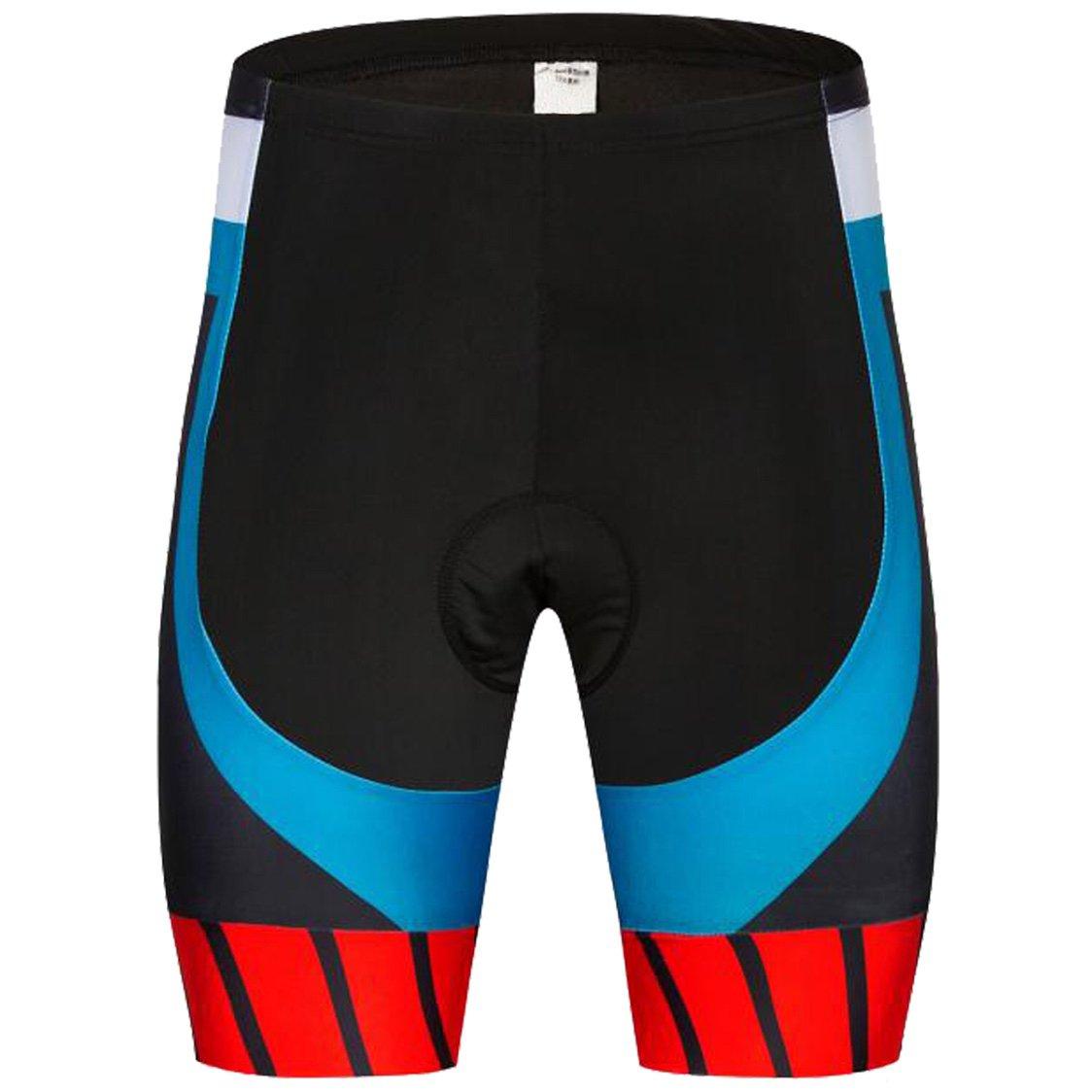 AKAAYUKO Cycling Shorts Men Padded Bicycle Riding Pants Bike Biking Cycle Wear Tights