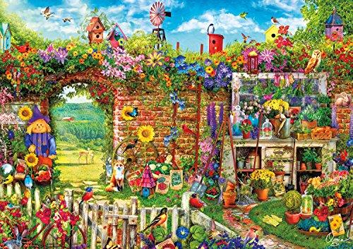 Buffalo Games - Aimee Stewart - Garden Gate - 500 Piece Jigsaw Puzzle