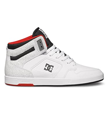 96bd6ac9798f5 DC Shoes Mens Nyjah High Skateboarding Shoes
