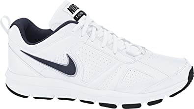 Nike Men\u0027s T-Lite Xi Cross Trainers, White (White/Obsidian-Black