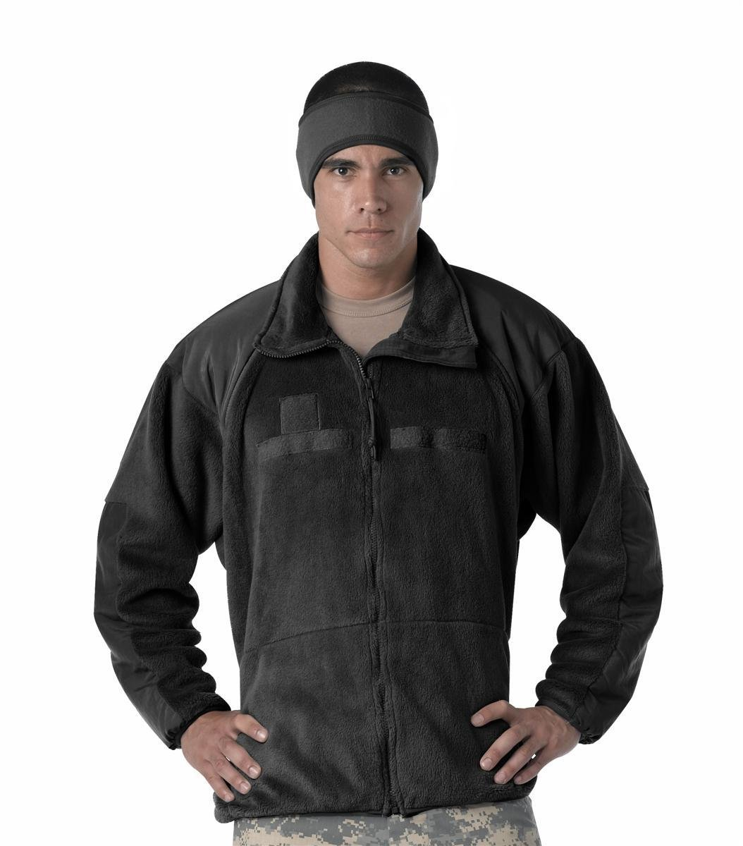Rothco Men's Generation III Military ECWCS Jacket Liner - 2X-Large, Black RSR Group Inc 613902974005