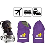 Izloo Gate Check Bag For Car Seat Single Or Double Stroller Pram Buggy