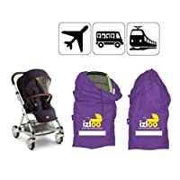Izloo Gate Check Bag for Car Seat, Single or Double Stroller, Pram, Buggy, Push Chair