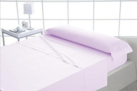 ForenTex - Juego de sábanas, (S-Rosa), 100% algodón, Rosa, Cama de 90 cm, Pieles sensibles, lo Natural y ecológico es Siempre un acierto: Amazon.es: Hogar
