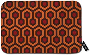 """The Shining Carpet Texture Bath Rug Door Mat Soft and Absorbent Bathroom Mat Anti-Slip and Plush Bath Mat for Bathroom Living Room and Laundry Room 15.7""""x23.6"""""""