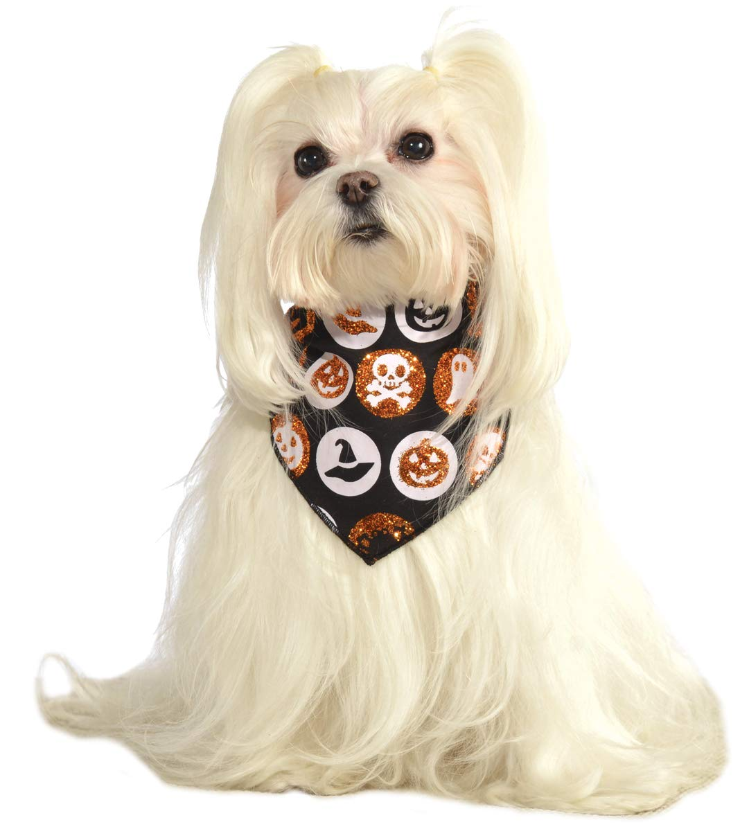 Rubies Glitter Halloween Pet Bandana Medium/Large Rubies Costume Company 886561 M-L