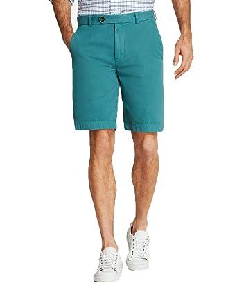 "4e9c2a0e2c Brooks Brothers Mens Garment-Dyed 10"" Green Teal Bermuda Shorts ..."