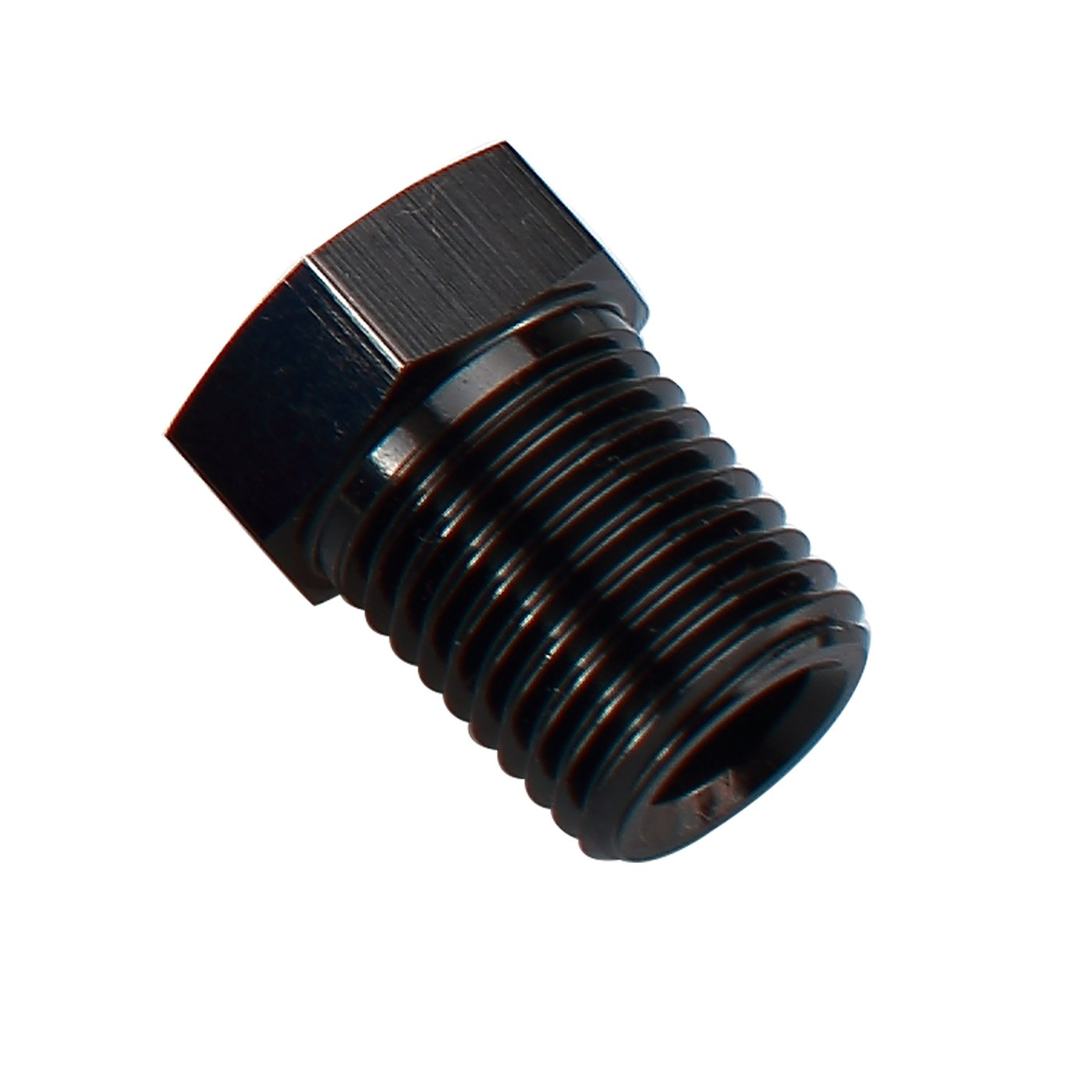 8 AN 3//4-16 to 1//2 NPT Aluminum Female 8AN Swivel to Male 1//2 NPT Thread Fuel Pipe Hose Fitting Straight Blue