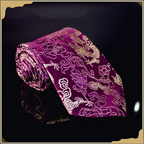 Wangwang454 Exquisita Corbata Alta Gama Corbata De Seda para ...
