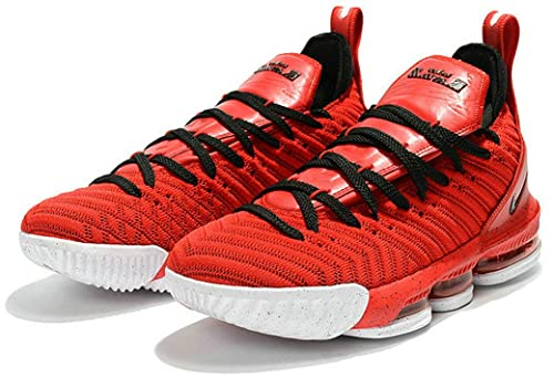 Lebron James 16 XVI Chinese Red Zapatos de Baloncesto para Hombre: Amazon.es: Zapatos y complementos