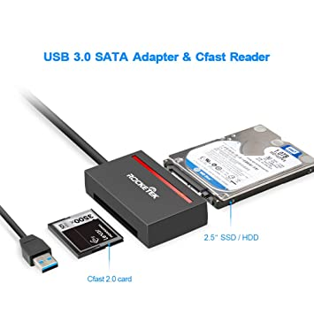 Amazon.com: Adaptador de disco duro SATA tipo c/USB 3.0 + ...