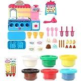 P Prettyia おもちゃ キッチン調理器具 アイスクリーム店 おままごとおもちゃ