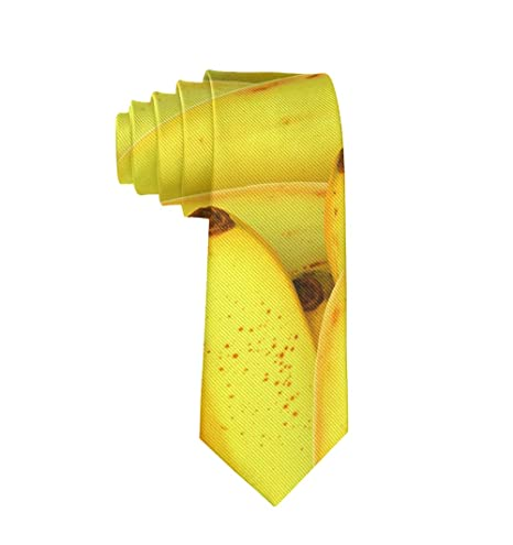 MrDecor - Corbata de Seda para Hombre, diseño de plátanos: Amazon ...