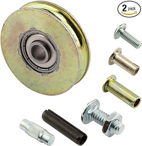 """Sliding Glass Door Roller 1-1//2/"""" Steel Ball Bearing Roller Krestmark Pkg of 2"""