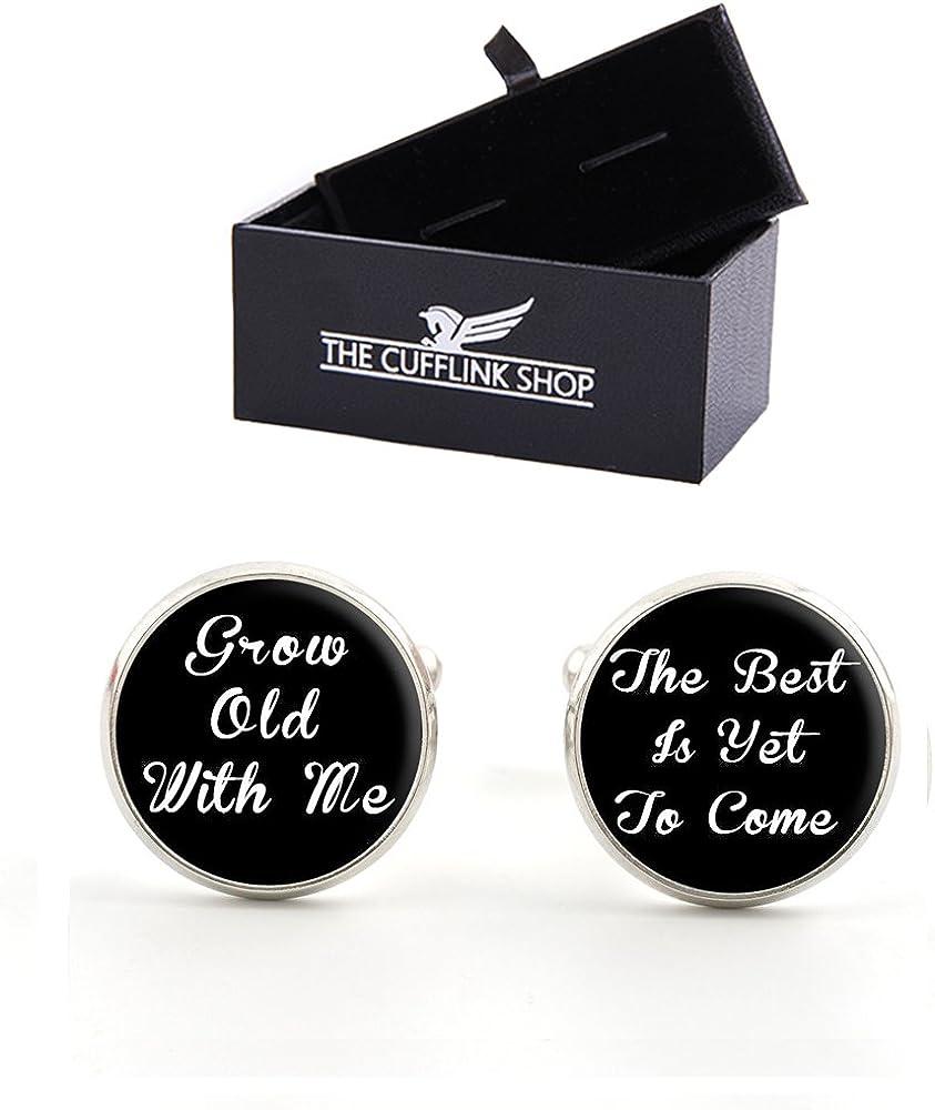 The Cufflink Shop Herren eleganten Hochzeitsmanschettenkn/öpfemit Luxus Geschenkbox