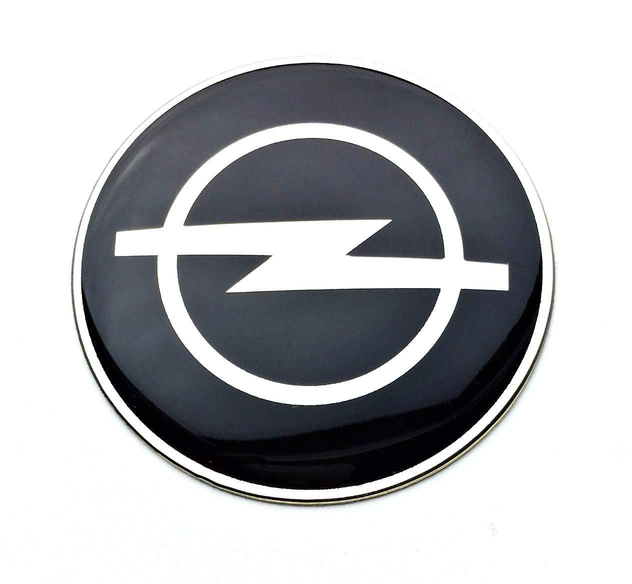 tapacubos OpelLogo autoadhesivas Conjunto de 4 x 65mm pegatinas para central Tapas de rueda