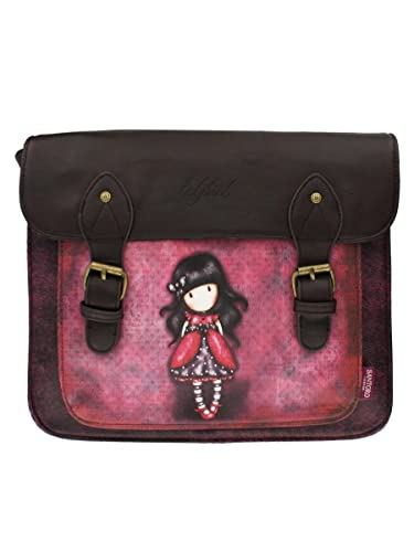 Santoro Gorjuss The Ladybird Satchel Bag: Amazon.es: Zapatos y complementos