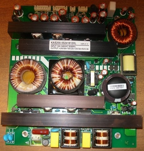 Repair Kit, Polaroid FLM-3701, LCD Monitor, Capacitors Only, Not the Entire - Online Polaroids