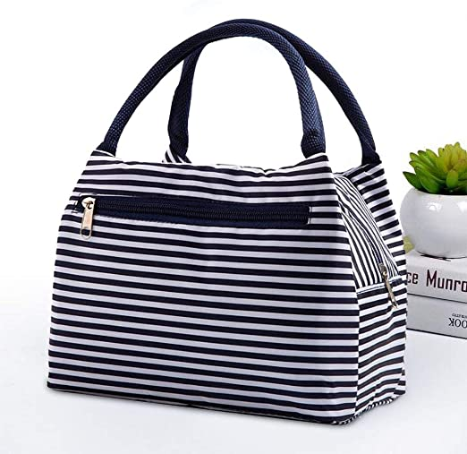 Blue TooTu Lunch Bag Tote Cooler Bag for Women Lunch Box Insulated Lunch Container for//Picnic//Boating//Beach//Fishing//Work