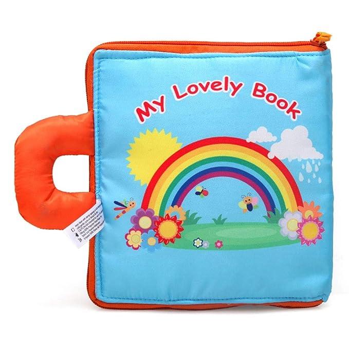Amazon.com: Baby Early Education 3D Estéreo Sun Flower Cloth ...