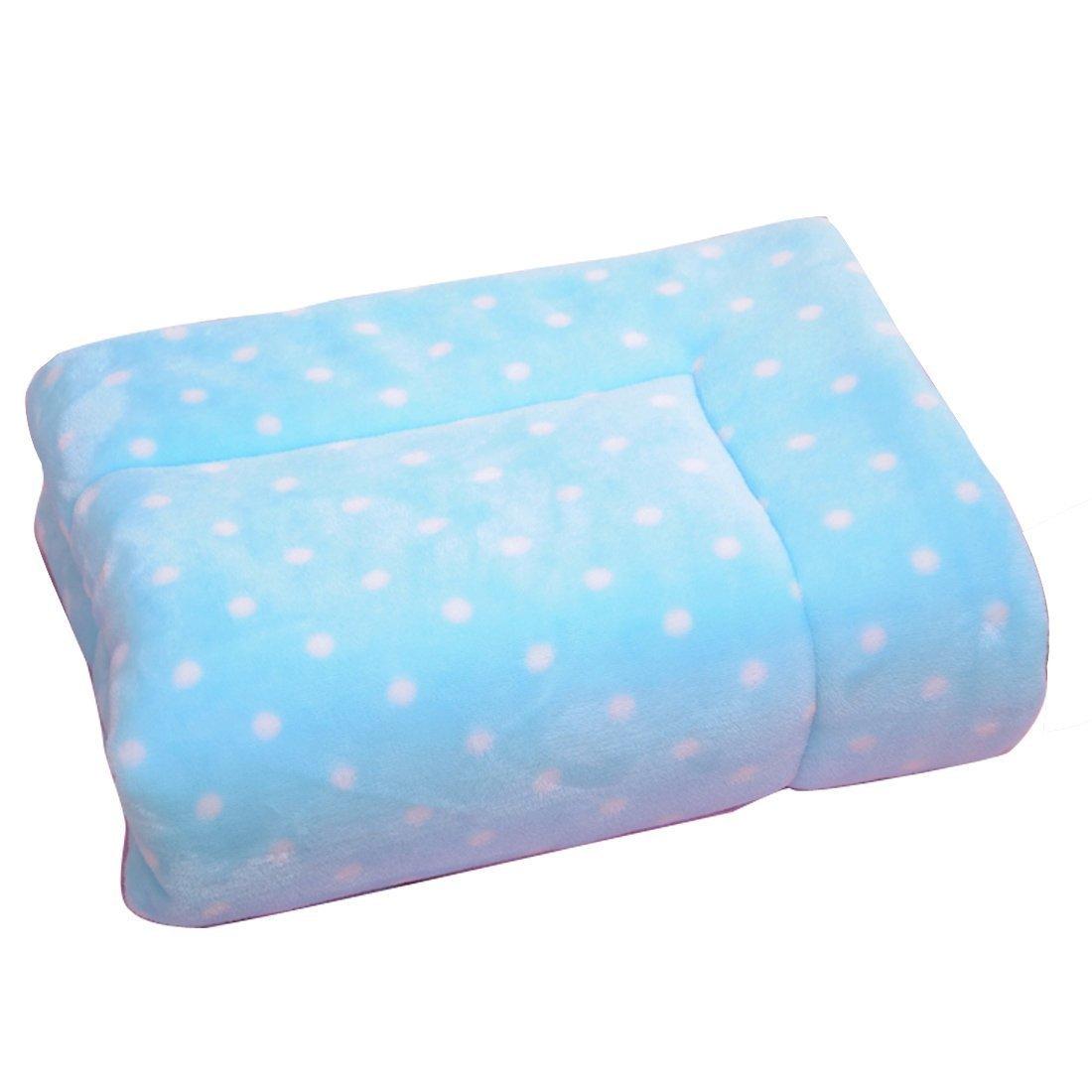 OHlive Accogliente Coperta in Pile per Cani Pet Large Thick Sleeping Mat Mat Cuscino Morbido Winter Warm Washable (Medium)