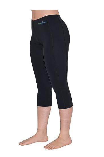 83b6e6224a224 EcoStinger Women UV Swim Tights Capri Length Leggings Sun Protection ...