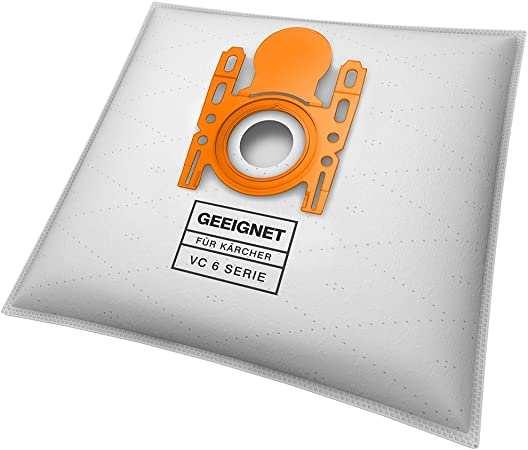 10 bolsas para aspiradora Kärcher VC 6 Premium, VC 6100, 6150, VC ...