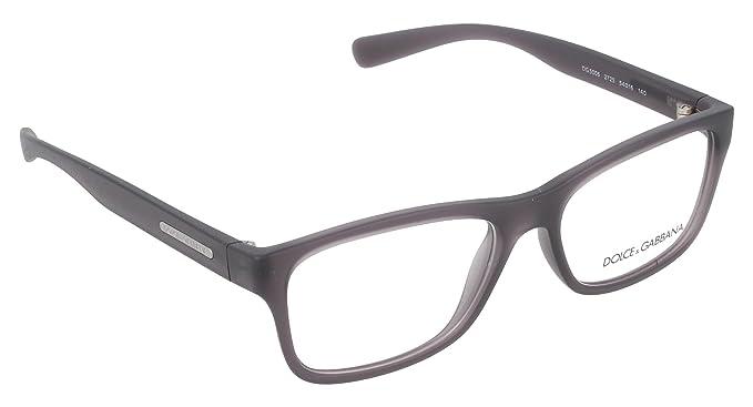 Dolce   Gabbana - Montures de lunettes - Homme Gris gris  Amazon.fr ... 5c7bd6bd0588