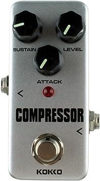 DF-FR KOKKO FCP2 Mini Pedal de Compresor de Efecto Guitarra ...