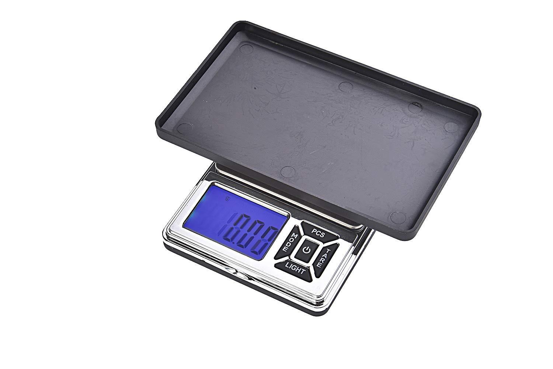 Quantum Abacus Precise: Báscula digital de precisión/balanza para correo/joyería/pesacartas/microbalanza/pesillo/balanza de bolsillo, graduación precisa de ...