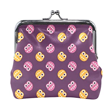 Amazon.com: Funny Teeth - Monedero para mujer, color morado ...