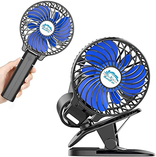 Office 360 /° rotation clip desk fan For Home bedroom,Dorm Portable Clip Fan ,Desk Fan with Spray Humidifying Fan Mini Rechargeable USB fan
