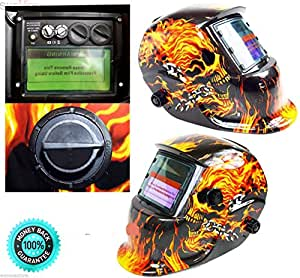 SKEMiDEX---Pro Solar Auto Darkening Welding Helmet Arc Tig Mig Certified Mask Grinding New. Plasma cutting has a limited arc, but still requires protection