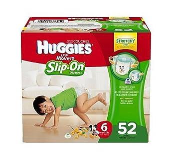 Amazon.com : Size 6 - Huggies Little Movers Slip On Diaper Pants ...