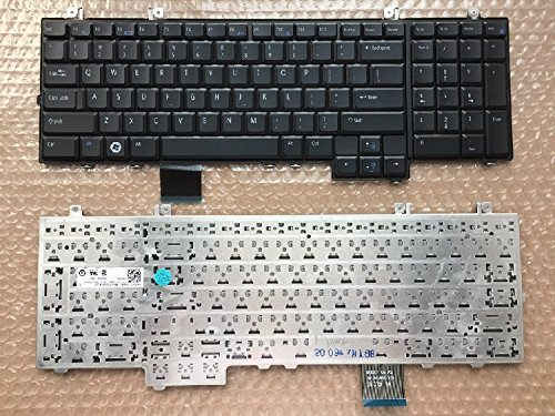 Replacement Keyboard For Dell Studio 1735 1736 1737, US layout black color -