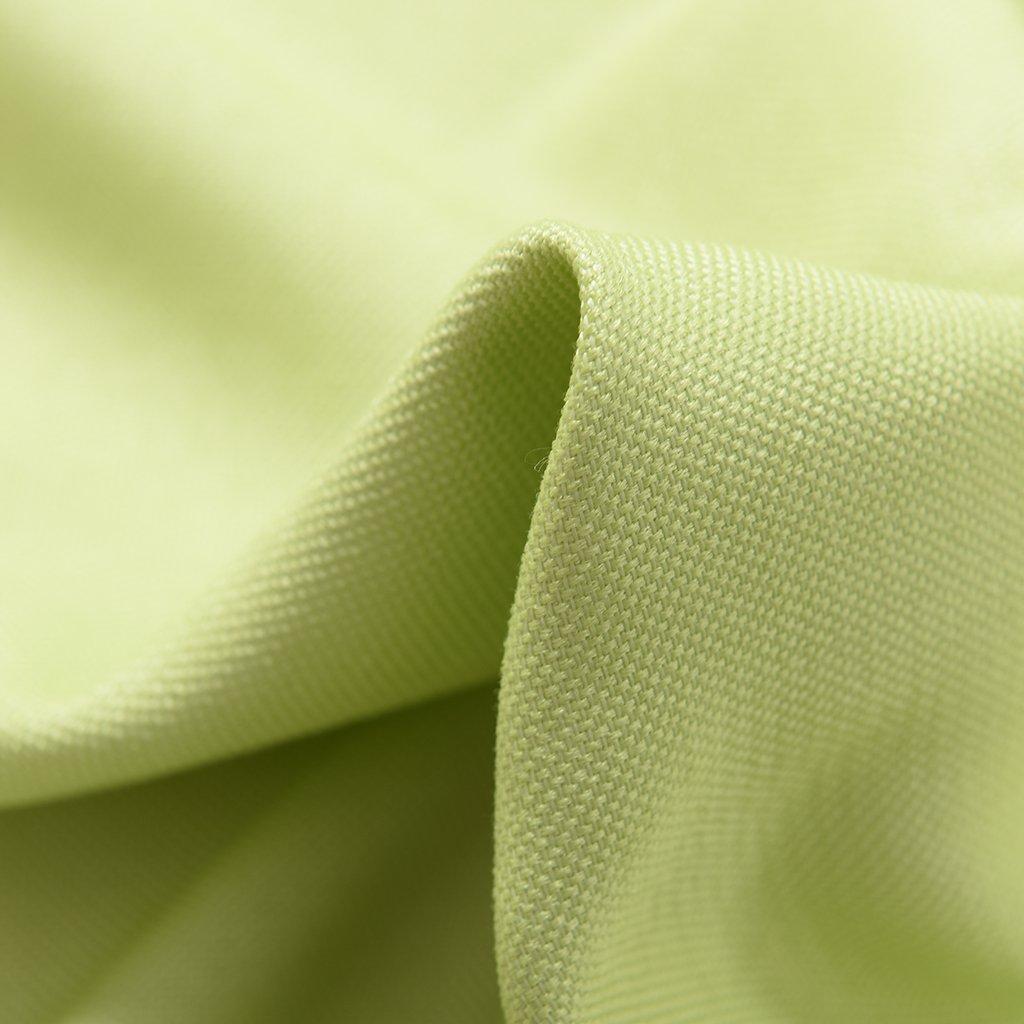 Grün 100x250cm Zusatz Dekorierung Accessoire für Schlafzimmer Fenster Farbe Wahl Sharplace 1 Stück Elegante Fenster Gardine