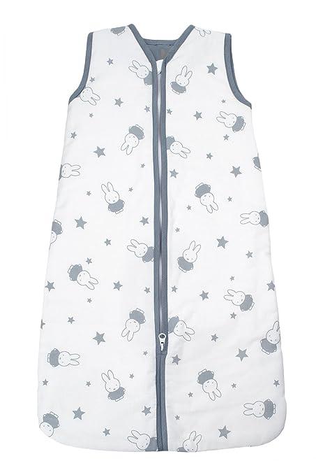 Briljant Baby zomer slaapzakmaat90nijn87r Saco de dormir de verano con cremallera con Miffy, 90 cm