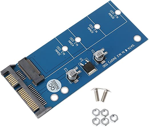 ZOUCY M2 NGFF SSD SATA3 SSD a SATA Adaptador de Tarjeta de ...