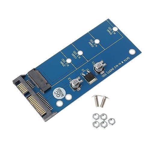 siwetg M2 NGFF SSD SATA3 SSD A SATA Adaptador De Tarjeta De ...