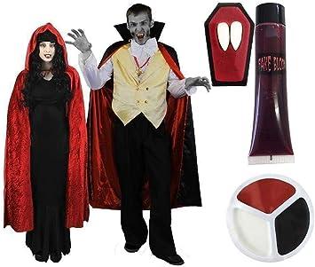 I LOVE FANCY DRESS LTD Disfraz para Parejas DE Vampiros Conjunto ...