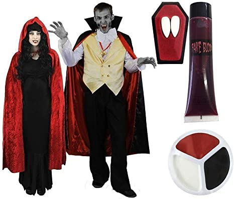 I LOVE FANCY DRESS LTD Disfraz para Parejas DE Vampiros Conjunto ...