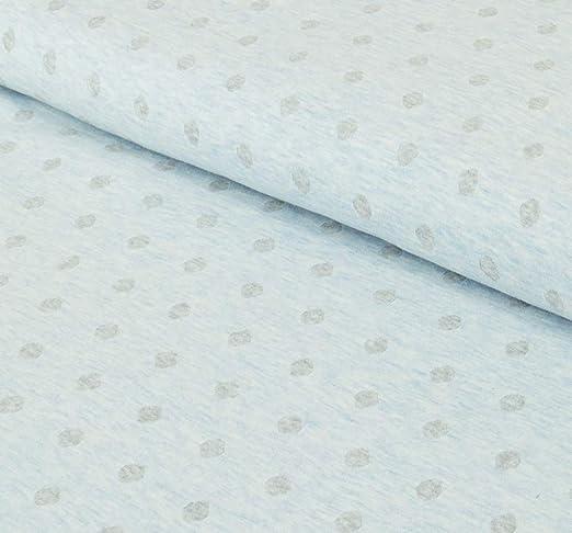 Nadeltraum - Tela de punto fino de algodón, doble cara, con puntos, se vende por metros a partir de 50 cm x 150 cm, tela para coser: Amazon.es: Hogar