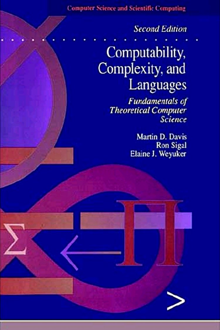 Computability Complexity and Languages: Fundamentals of Theoretical Computer Science (Computer Science and Scientific Computing)