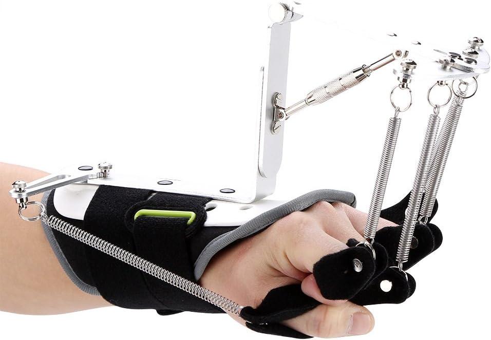 Férula para muñeca y pulgar, dispositivo ortopédico de rehabilitación de dedo ajustable Dispositivo de muñeca de brazo para infarto cerebral Trombosis Accidente cerebrovascular, aprobado por la FDA (e