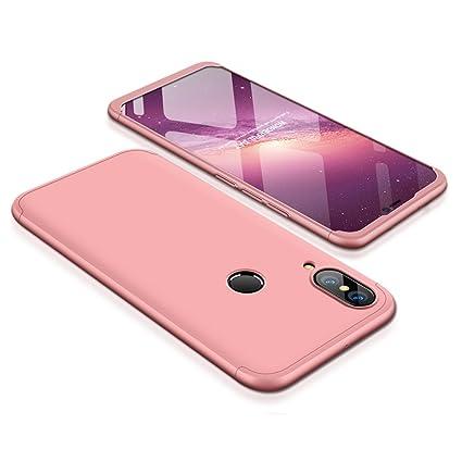 Huawei P20 Lite Funda Antigolpes, Carcasa Huawei P20 Lite Teléfono Movíl Protector Ambos Lados Protección 360 Integral Completa Pantalla Cubrido a ...